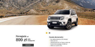 Jeep Renegade od 899 zł netto miesięcznie 1