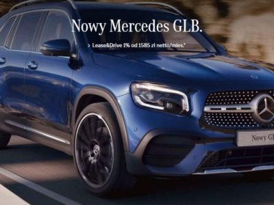 Nowy Mercedes GLB w ofercie Lease&Drive 1% 2