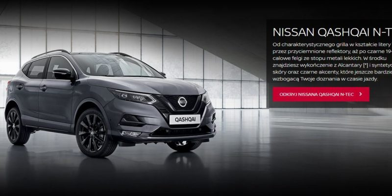 Nissan Quashqai z korzyściami do 16 700 zł 1