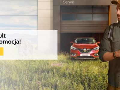 Serwis Renault pełen promocji 2