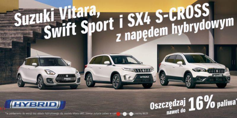 Promocje na samochody z rocznika 2020 w Suzuki 1