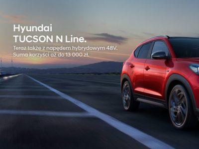 Hyundai Tucson N Line z korzyściami do 13 tysięcy złotych 2