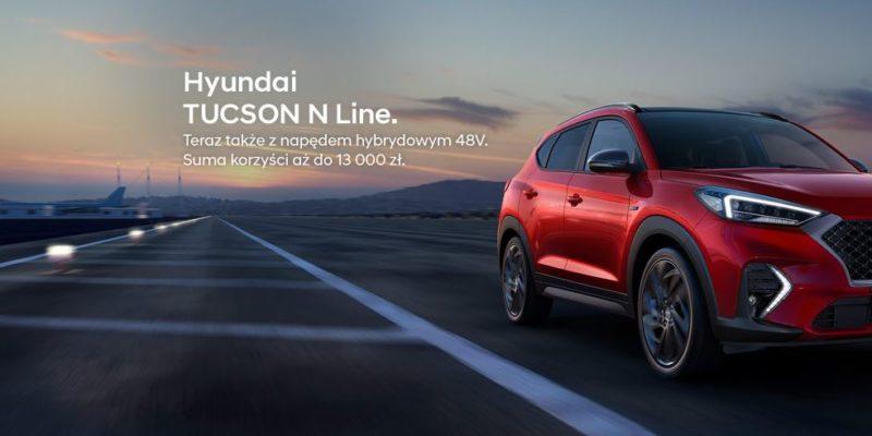 Hyundai Tucson N Line z korzyściami do 13 tysięcy złotych 1