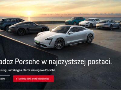 Atrakcja oferta leasingu w Porsche 2