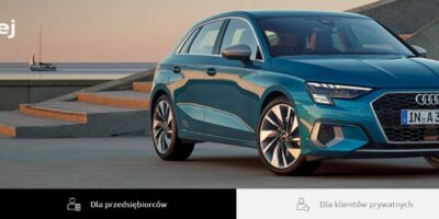 0 lub 5% opłaty wstępnej i wybrane Audi może być Twoje 3