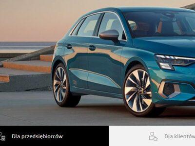 0 lub 5% opłaty wstępnej i wybrane Audi może być Twoje 2