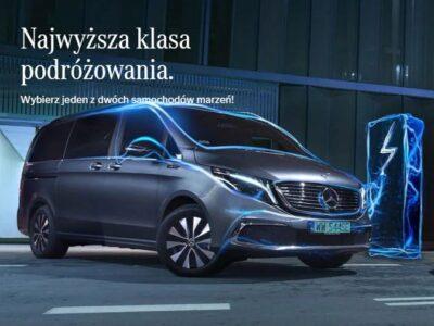 Wypożyczenie EQV od Mercedes-Benz za 1% ceny brutto miesięcznie za 1 rok 1